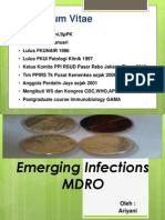 Emerging Infections - Mdro
