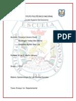 Ensayo  Departamental Epistemología De Las Ciencias Sociales (1)
