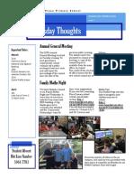 Newsletter 20-03-2014