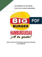 Manual de Bienvenida de Big Burger