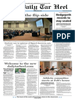 The Daily Tar Heel for March 20, 2014