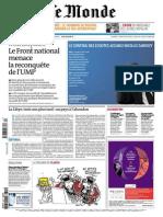 Le Monde 20 Mar 2014