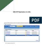 EMC-RPA Replication of LUNs