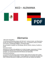 MEXICO – ALEMANIA