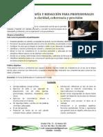 11. CURSO DE REDACCIÓN Y ORTOGRAFÍA PARA PROFESIONALES