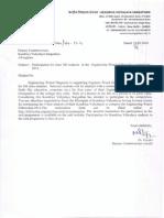 Kendriya Vidyalaya Letter-Deputy Commissioner
