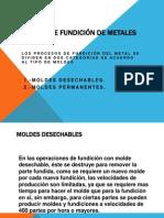 PROCESOS DE FUNDICIÓN DE METALES
