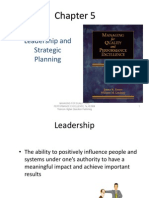 Chapter 5 Leadership and strategic planning