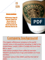 starbucks case summary