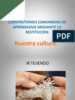 CONSTRUYENDO COMUNIDAD DE APRENDIZAJE MEDIANTE LA RESTITUCIÓN 1