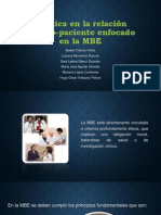 La ética en la relación medico-paciente