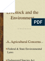 Livestock and the Environment