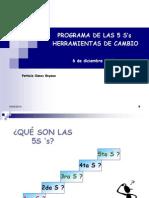 Programa de Las 5 S's Resumen