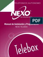 Manual de Instalación y Programación Telebox