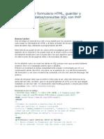 Tutorial Crear Formulario HTML5