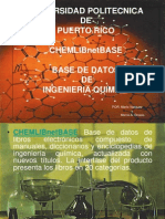 Chemlibnet Base de Datos