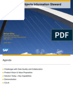 Overview of SAP BusinessObjects Information Steward