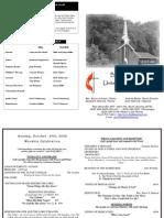 10 25 2009 Website Bulletin