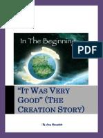 'It Was Very Good' (the Creation Story) - By Leroy Ramaphoko