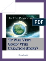 'It Was Very Good' (the Creation Story) - By Leroy Ramaphoko