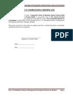 Comparative Study of Black Scholes Option Pricing Model and Binomial Option Pricing Model