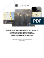 Uber and Strategy