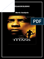 Movie Analysis of Remember the titans