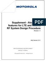 Supplement Atoll 2.8.1 Features for LTE and WiMAX RF System Design Procedure-1.1 2