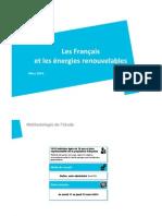 Les francais prêts pour la transition énergétique -Sondage exclusif CSA pour FEE