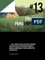 13 Principios Para Emprender