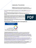 Organizația Internațională a Francofoniei