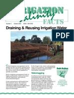 Reusing Irrigation Water