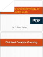 Fluidised Catalytic Cracking for Student