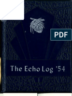 UCA 1954 Echo Log