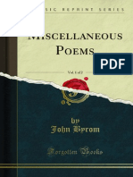 Miscellaneous Poems v1