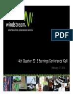 Investor Presentation 4Q13