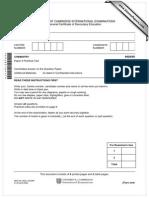 0620_s08_qp_5 Past Paper