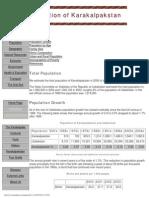 Karalpakatan Population