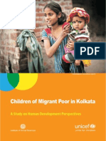 Children of Migrant Poor in kolkata