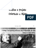 Analise e Projeto Orientado a Objeto