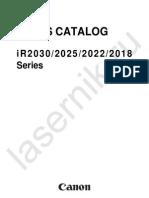 Ir2018+2030 Series Parts