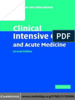 Clinical Intensive Care and Acute Medicine