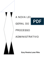 A Nova Lei Geral Do Processo Administrativo