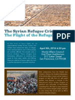 World Affairs Council Syrian Refugee Event