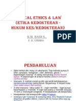 Med. Ethic & Law