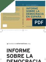 Informe.Democracia.Española_Fund.Alternativas_2011