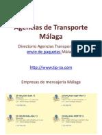 Agencias de Transporte Málaga