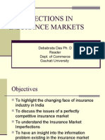 Imperfections in Insurance Markets