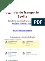 Agencias de Transporte Sevilla