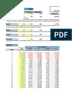 Cash Flow Waterfall-Excel Tmplate